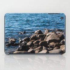 Rocks on the Water iPad Case