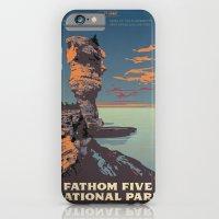 Fathom Five National Park Poster (Flowerpot Island) iPhone 6 Slim Case