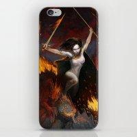 Frazetta tribute iPhone & iPod Skin