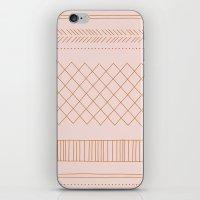 Delicate Tribal - In Apr… iPhone & iPod Skin