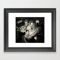 BearScare.App Framed Art Print