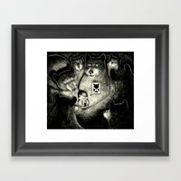 BearScare.App Framed Art Print