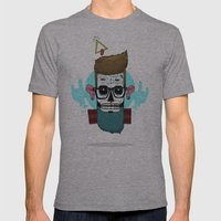 Sugar Hip Mens Fitted Tee Athletic Grey SMALL