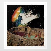 Kepler Pool Party Art Print