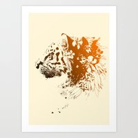 Tiger Lilly Art Print