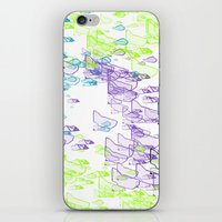 Rock Pattern Inverted iPhone & iPod Skin