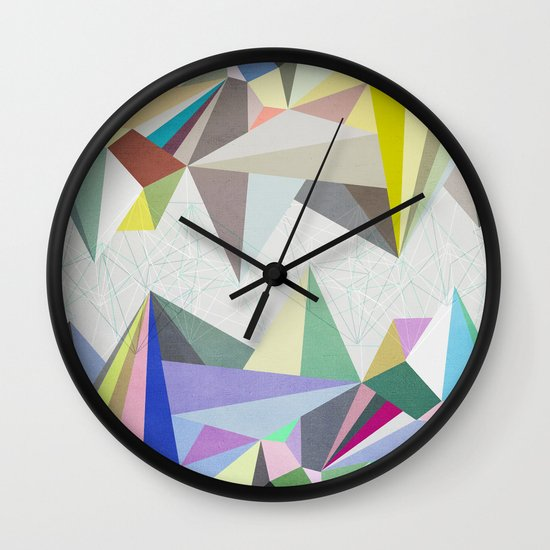 Colorflash 4 Wall Clock
