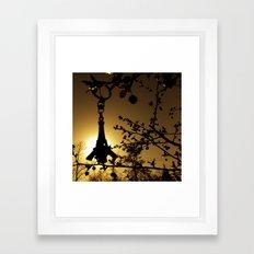 Shadow of the Parisian Framed Art Print