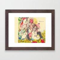 ''Морозко'' (Jack Frost) Framed Art Print