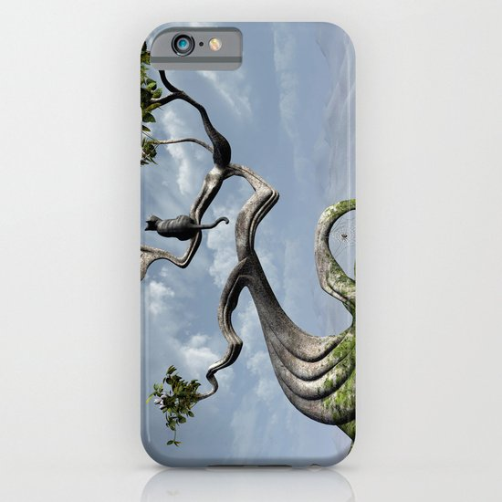 The Sitting Tree iPhone & iPod Case