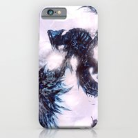 iPhone & iPod Case featuring Coldfire Dragon by Justin Currie