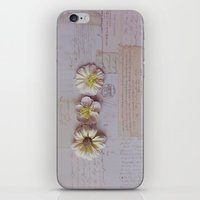 Vintage Garden, Flower P… iPhone & iPod Skin