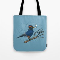 Annoyed IL Birds: The Ro… Tote Bag