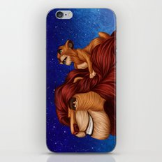 Lion King: Whenever You Feel Alone... iPhone & iPod Skin