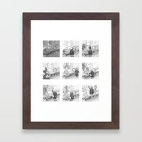 A Day in the Life of A Fairy Tale Bakery Framed Art Print