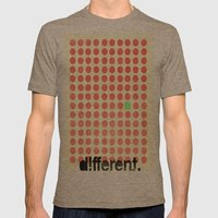 Be Different Mens Fitted Tee Tri-Coffee SMALL