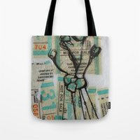 MuNi Transfer Atom Tote Bag