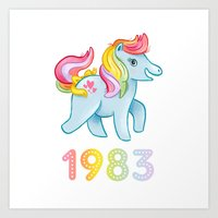1983 Art Print