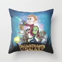 In A Little Galaxy Not S… Throw Pillow