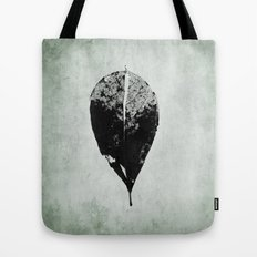 leaf skeleton Tote Bag
