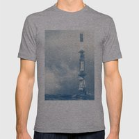 Blue Print Mens Fitted Tee Athletic Grey SMALL