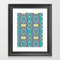 Sunny Day Pattern  Framed Art Print
