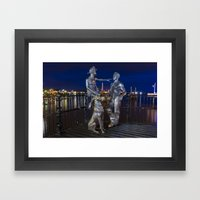 People Like Us Framed Art Print