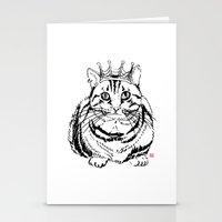 I Am KING Stationery Cards
