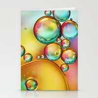Pretty Drops Of Rainbow … Stationery Cards