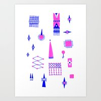 Pompoko Art Print