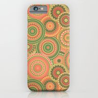 iPhone Cases featuring Mandala 120 by Patterns of Life