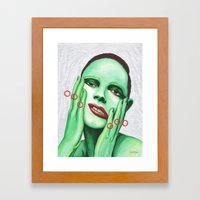 Close Up 7 Framed Art Print
