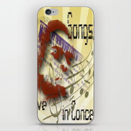Songs iPhone & iPod Skin