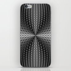 Circular Pinch in Monochrome iPhone & iPod Skin