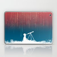 Meteor Rain (light version) Laptop & iPad Skin