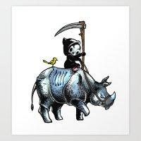 Little Death Art Print