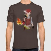 Lilith Mens Fitted Tee Brown SMALL