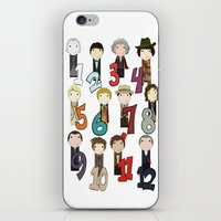 Count With The Doctors iPhone & iPod Skin