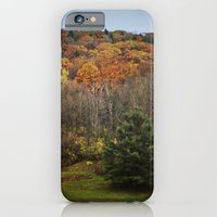 iPhone & iPod Case featuring October Mountain Forest by Em Beck