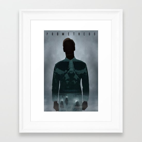Prometheus Framed Art Print