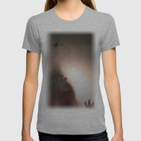 man Womens Fitted Tee Athletic Grey SMALL