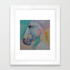 Lipizzan Stallion Framed Art Print