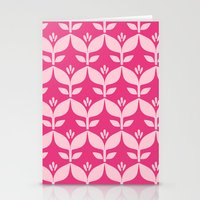 Bright Retro 6 Stationery Cards