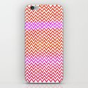 Fuschia - Chevron iPhone & iPod Skin