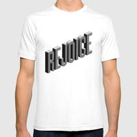 Rejoice Mens Fitted Tee White SMALL