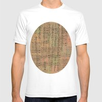 Old Page Mens Fitted Tee White SMALL
