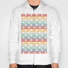Summer Chevron  Hoody