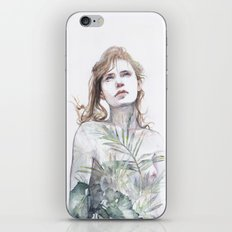 Breathe in, breathe out iPhone & iPod Skin