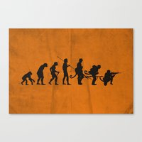 Involution! Canvas Print