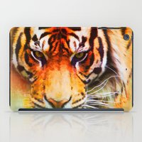 Colorful Expressions Tig… iPad Case